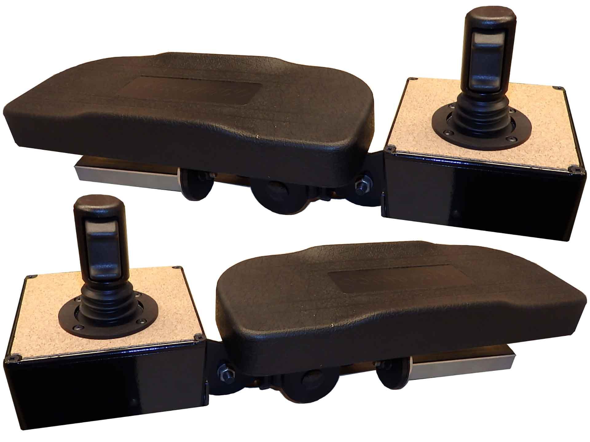 Frameco 2000 armrests & Ottot JHM joysticks