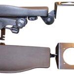 Frameco 310 armrest with single link & Danfoss joystick holder
