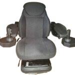 Frameco 600S armrests & GoPart seat & GT 3D joysticks