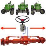 Tractor hydraulic steering