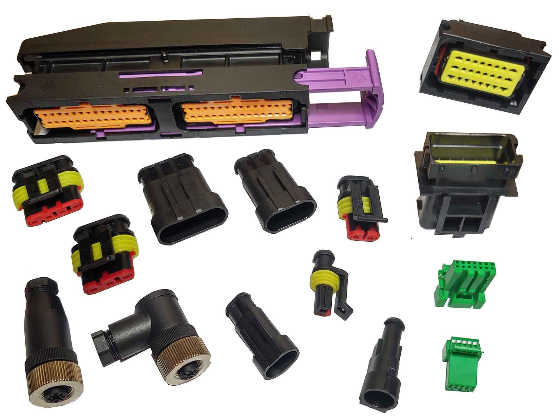Delphi & AMP & JAC connectors
