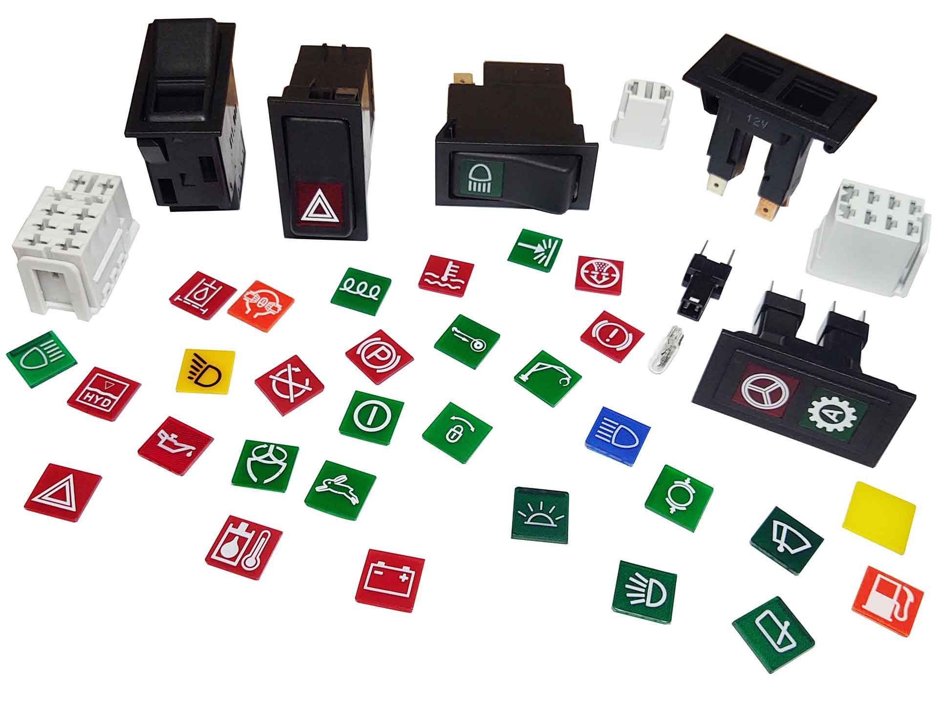 SWF / Valeo switches, indicators & accessories
